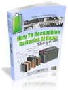Reconditioning Batteries